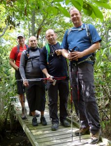 On 2012-10-18,at 3:28 PM Wells, Jon (JWells@thespec.com) Subject: Bruce Trail hikers The four men hiking the Bruce Trail end-to-end to raise awareness of the footpath, and funds for inner city Hamilton schools. From left: Peter Turkstra, Teemu Lakkasuo, Fred Losani, and Mark MacLennan. (Photo submitted by hike team)